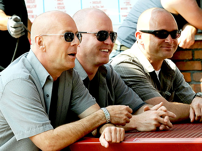 THREE OF A KIND photo | Bruce Willis