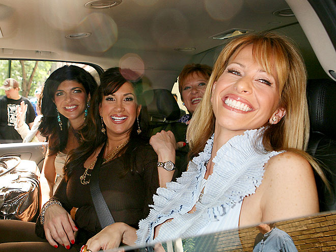CAR-POOL PARTY photo | Caroline Manzo, Dina Manzo, Jacqueline Laurita, Teresa Giudice