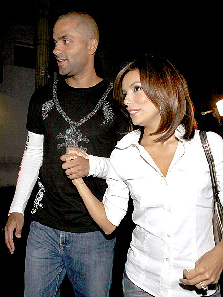 SHORT CUT photo | Eva Longoria, Tony Parker