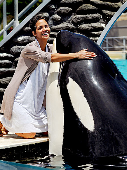 WHALE OF A TALE photo | Halle Berry