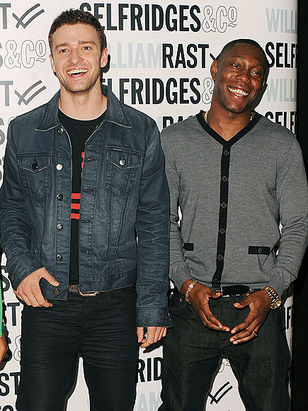 DESIGN STAR photo | Dizzee Rascal, Justin Timberlake