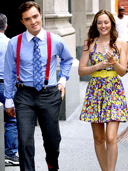 TALK OF THE TOWN photo | Ed Westwick, Leighton Meester