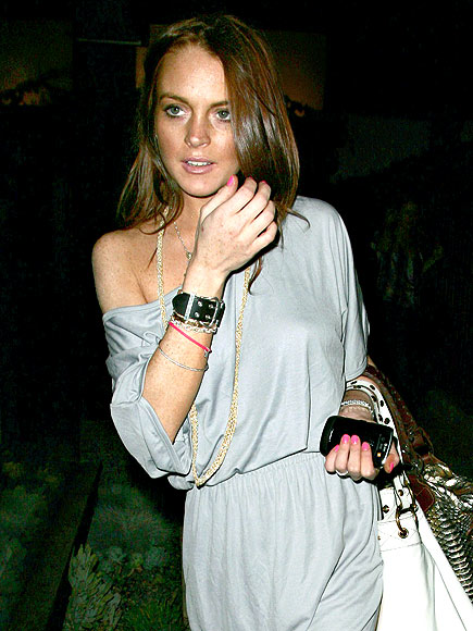 GRAY LADY photo | Lindsay Lohan