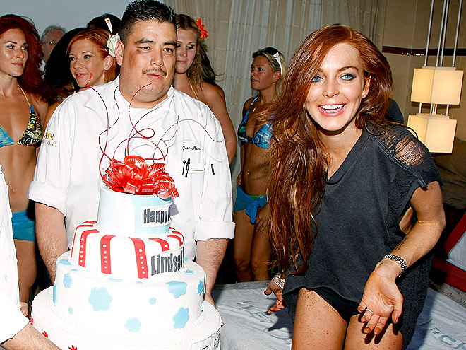 PIECE OF CAKE photo | Lindsay Lohan