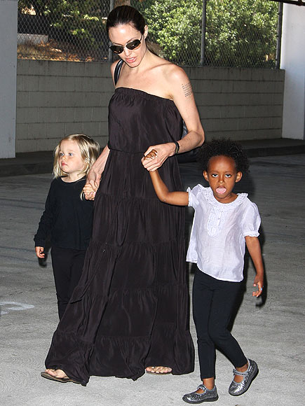 SHALL WE DANCE photo | Angelina Jolie, Shiloh Jolie-Pitt, Zahara Jolie-Pitt