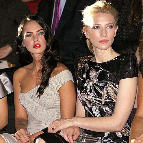 SITTING PRETTY photo | Cate Blanchett, Megan Fox
