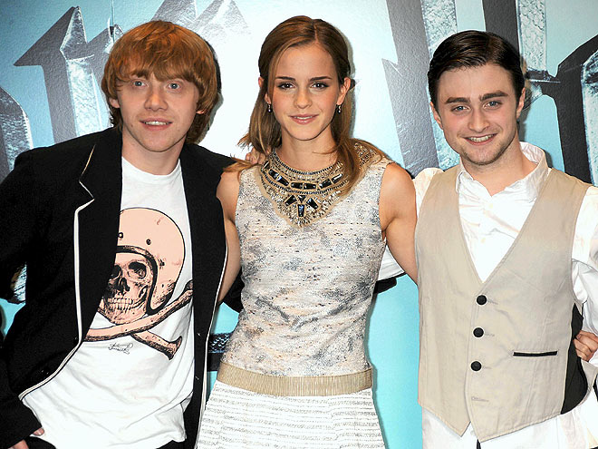 MAGIC MAKERS photo | Daniel Radcliffe, Emma Watson, Rupert Grint