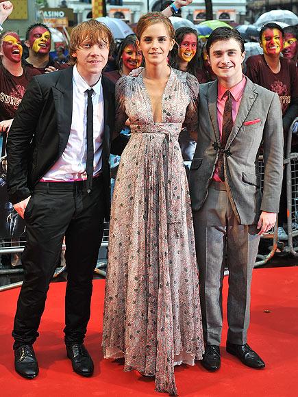 CASTING A SPELL photo   Daniel Radcliffe, Emma Watson, Rupert Grint