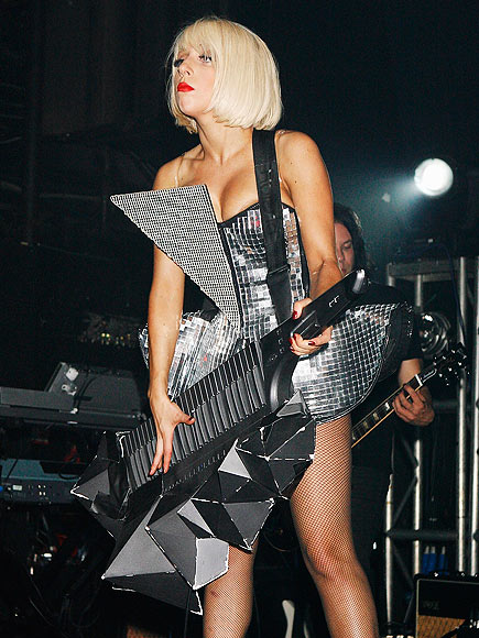GUITAR HERO photo | Lady Gaga