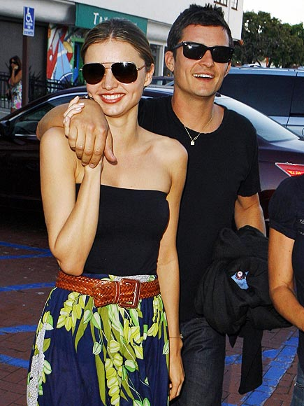 FULL BLOOM photo | Miranda Kerr, Orlando Bloom