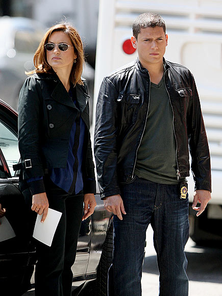 ON DUTY photo | Mariska Hargitay, Wentworth Miller