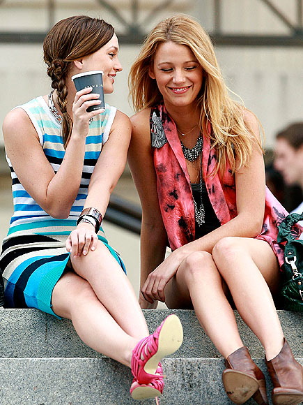 'GIRL' TIME photo | Blake Lively, Leighton Meester