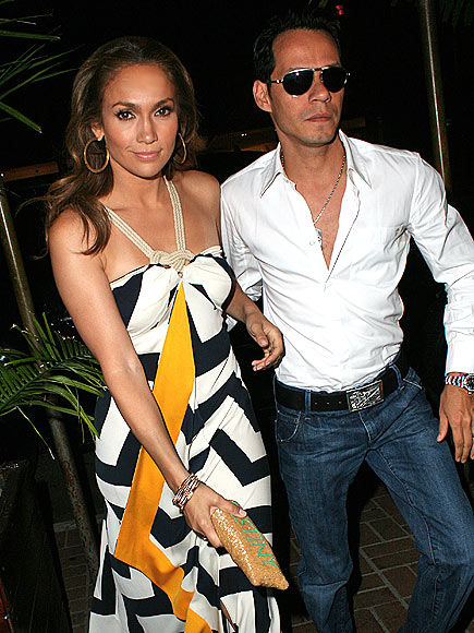 SLEEK & CHIC photo | Jennifer Lopez, Marc Anthony