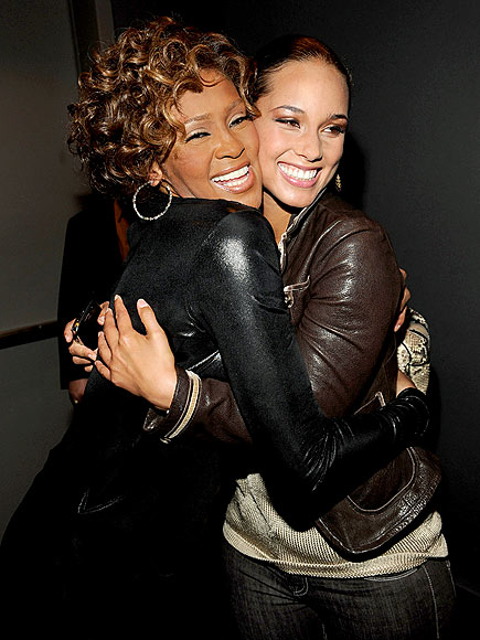 CHEEK-TO-CHEEK photo | Whitney Houston