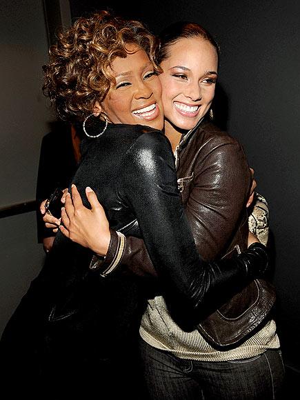 CHEEK-TO-CHEEK photo | Whitney Houston