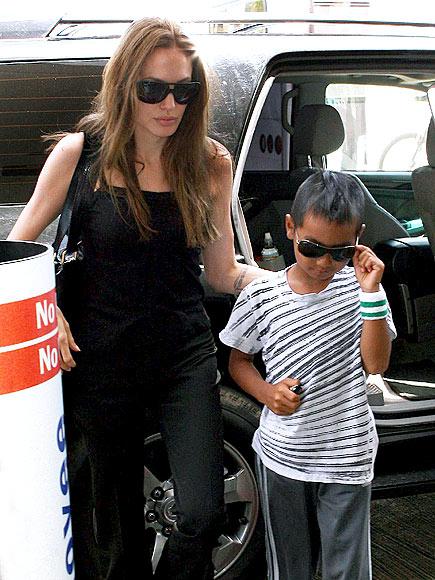 SHADY PAIR photo | Angelina Jolie, Maddox Jolie-Pitt