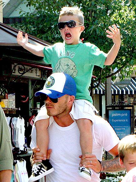 HEAD & SHOULDERS photo | David Beckham