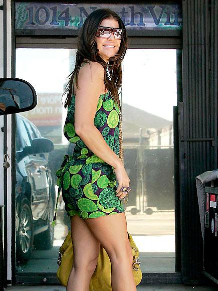 GOING GREEN photo | Fergie