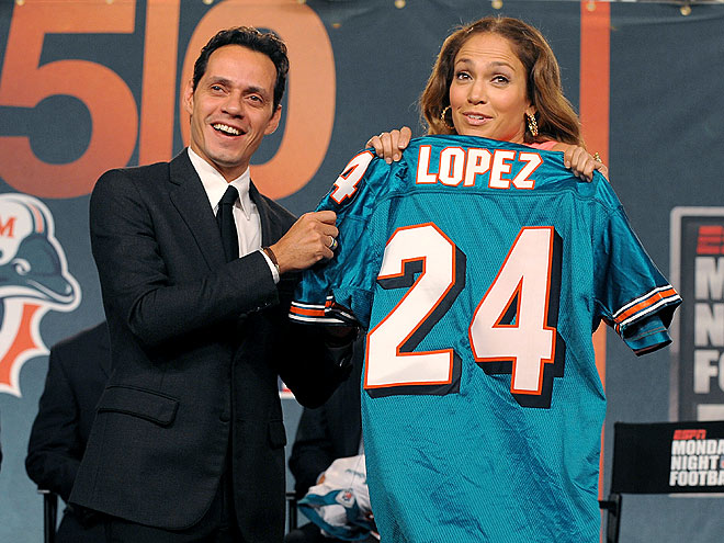 TEAM PLAYERS  photo | Jennifer Lopez, Marc Anthony