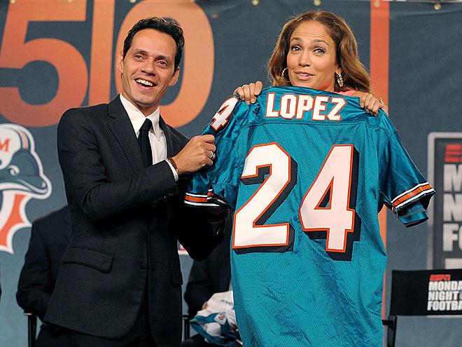 TEAM PLAYERS  photo | Jennifer Lopez, Marc Anthony