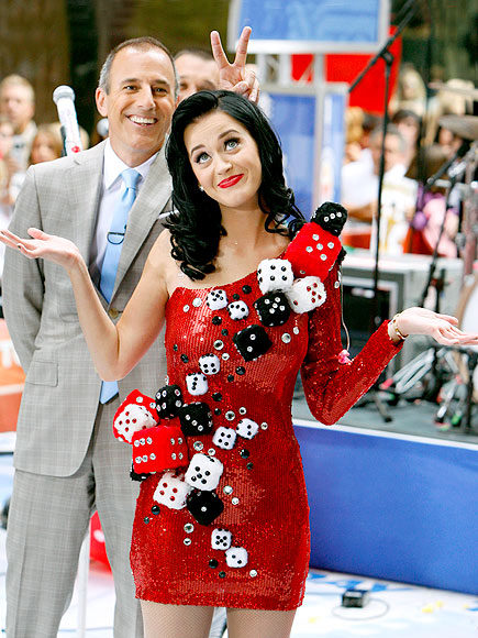 WHAT ARE THE ODDS? photo | Katy Perry, Matt Lauer