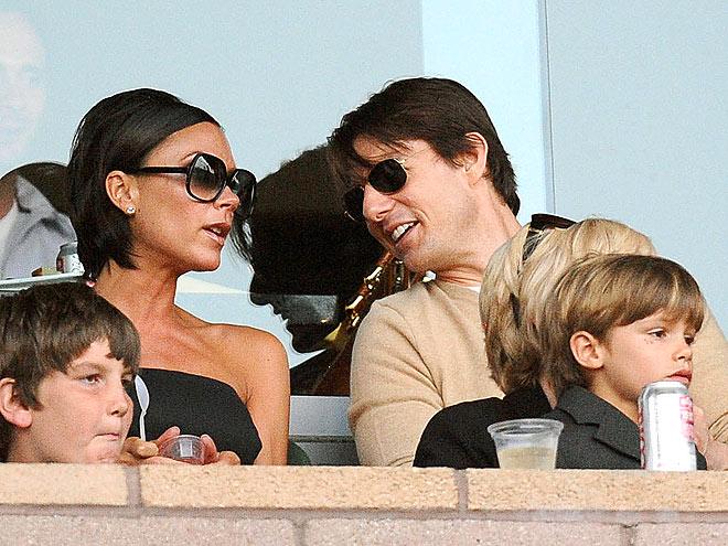 MEGA FANS photo | Tom Cruise, Victoria Beckham