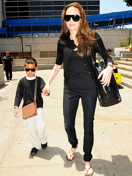 JET SETTERS photo | Angelina Jolie, Maddox Jolie-Pitt