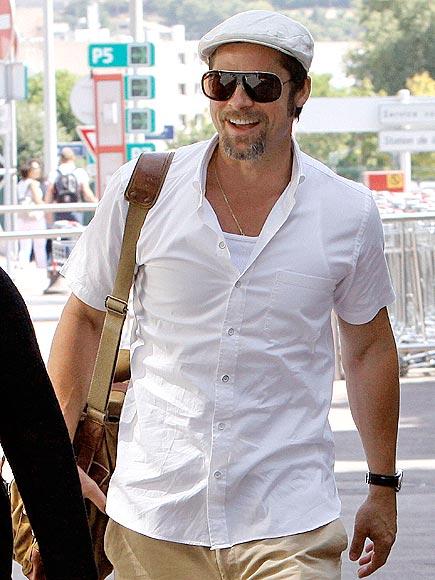 TRAVELING MAN photo | Brad Pitt