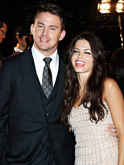 HAI, NEWLYWEDS! photo | Channing Tatum, Jenna Dewan