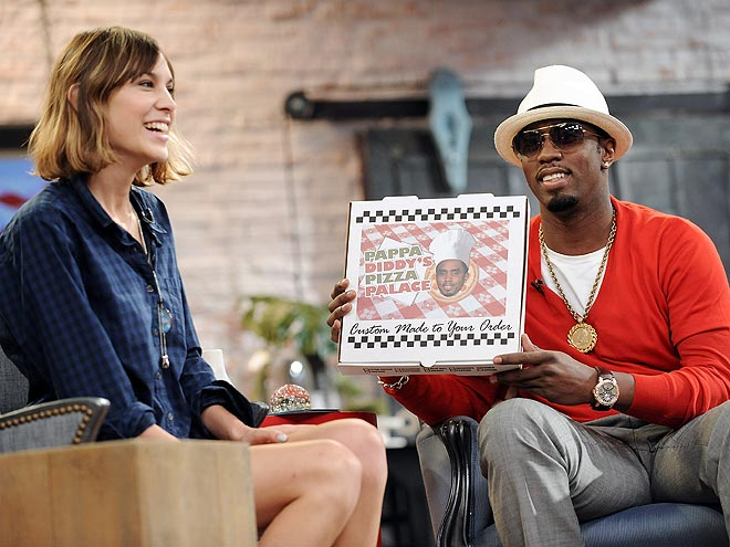 OUTSIDE THE BOX photo | Alexa Chung, Sean \P. Diddy\ Combs