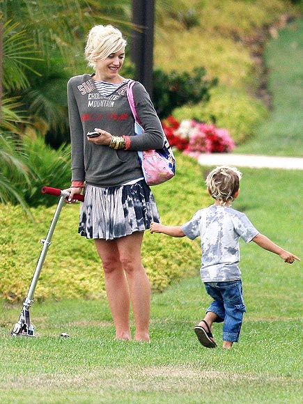 JOY RIDER photo | Gwen Stefani, Kingston Rossdale