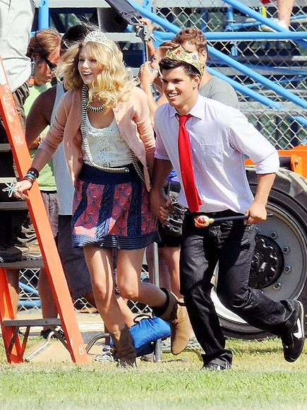 taylor swift and taylor lautner. Lautner, Taylor Swift