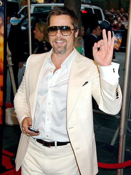GOOD SIGN photo | Brad Pitt