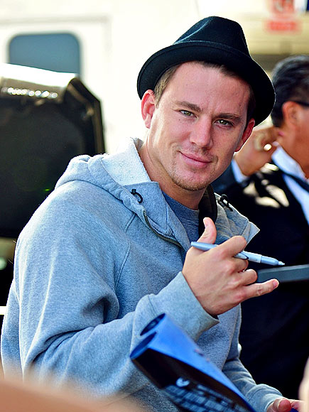 SIGNING OFF photo | Channing Tatum