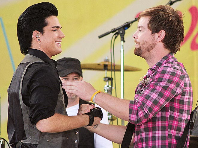 MEET AND GREET photo | Adam Lambert, David Cook