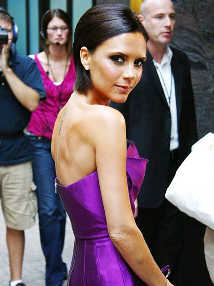 PURPLE REIGN photo | Victoria Beckham