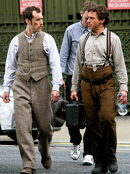 'HOLMES' BOYS photo | Jude Law, Robert Downey Jr.