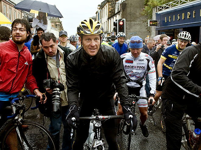 RIDE ALONG photo | Lance Armstrong