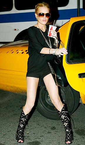 CAB CALL photo | Lindsay Lohan