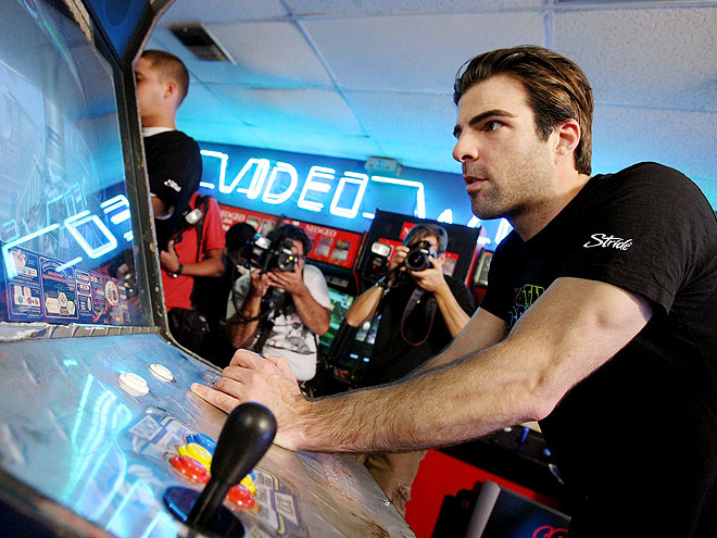 GAME TIME photo | Zachary Quinto