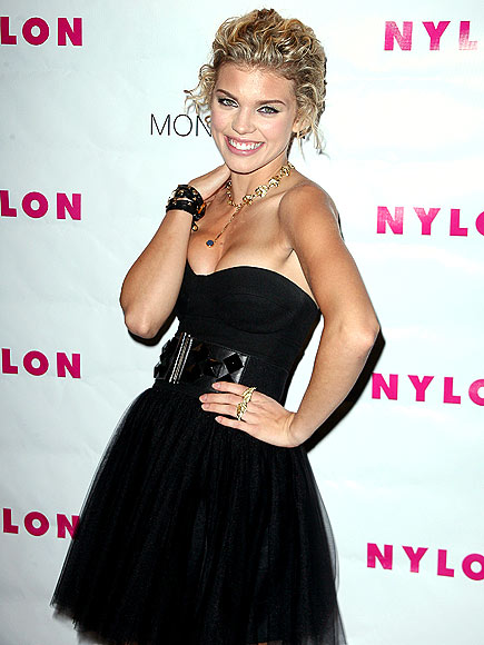 TULLE-ING AROUND photo | AnnaLynne McCord
