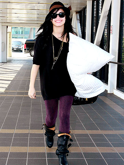 PILLOW WALK photo | Demi Lovato