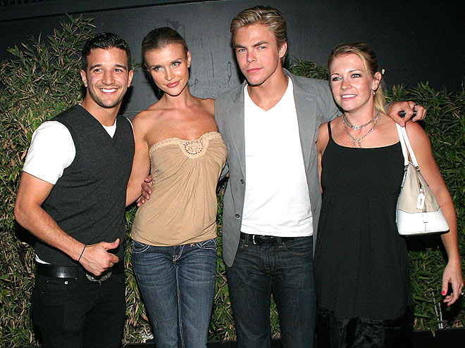 BALLROOM BONDING photo | Derek Hough, Melissa Joan Hart