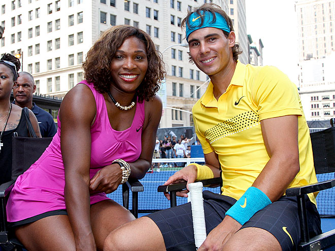WHAT A MATCH photo | Rafael Nadal, Serena Williams