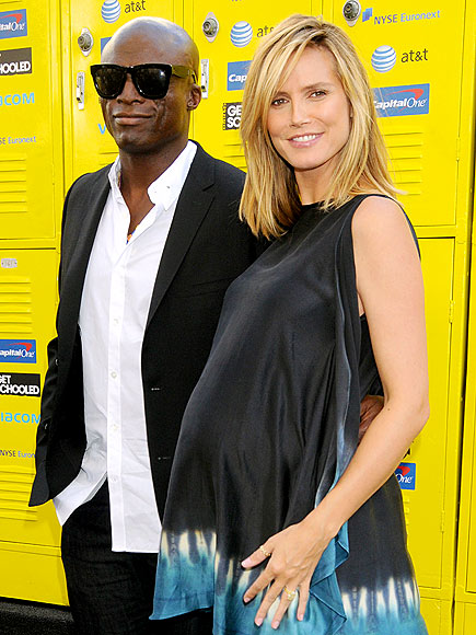 SCHOOL SWEETHEARTS photo | Heidi Klum, Seal