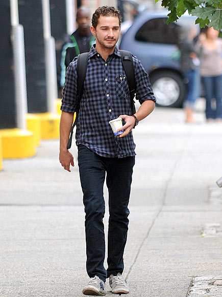 BACK TO WORK photo | Shia LaBeouf