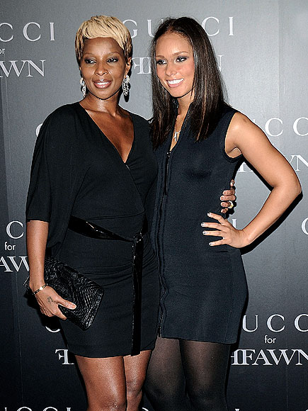 BLACK OUT photo | Alicia Keys, Mary J. Blige
