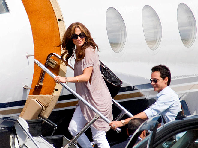 THE JET SET photo | Jennifer Lopez, Marc Anthony