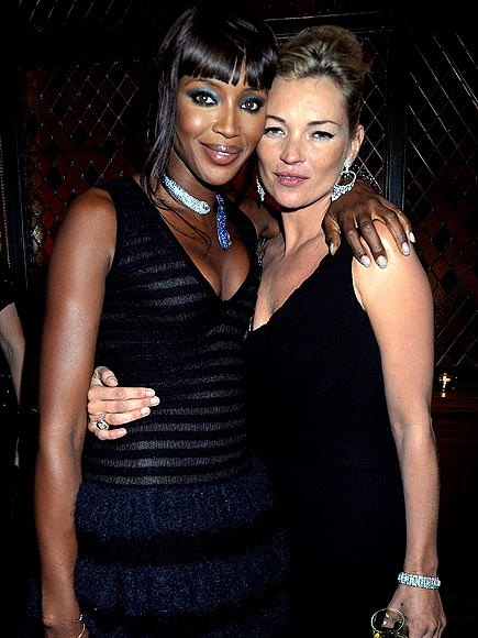 MODEL MOMENT  photo | Kate Moss, Naomi Campbell