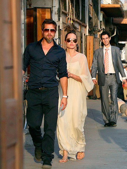 A WORLD AWAY photo | Angelina Jolie, Brad Pitt